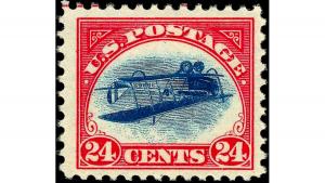 обърната джени, пощенска марка, Inverted Jenny, €750,000