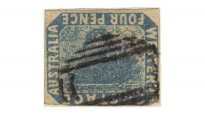 пощенска марка, обърнатия лебед, Inverted Swan, € 35,500