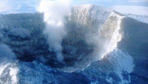 Вулкана Еребус, Антрактида