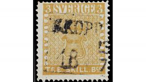 жълтата маркаq The Treskilling Yellow, 2.1 млн. Евро