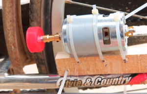Двигател за колело, велосипед на ток, електрически велосипед