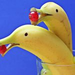 забавни банани, банани - делфин