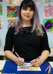 Meglena Kostova- Mega, neirografika, intervji