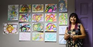 hobi neirografica, Mega Art intervju